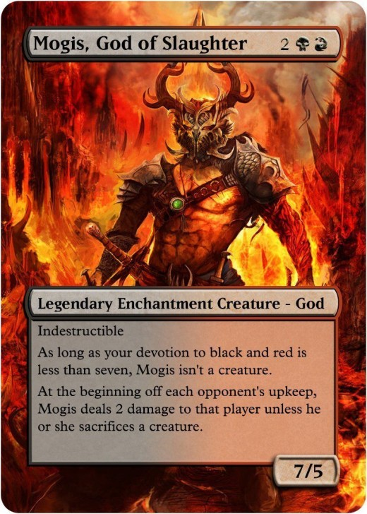 Mogis, God of Slaughter alternate artwork