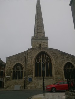 Visiting the Parish Church of St. Michael in Southampton, England
