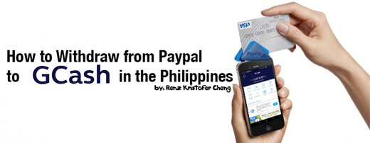 Withdrawing Paypal Balance using GCash in the Philippines