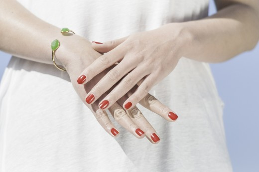 Imagine yourself with pretty nails.