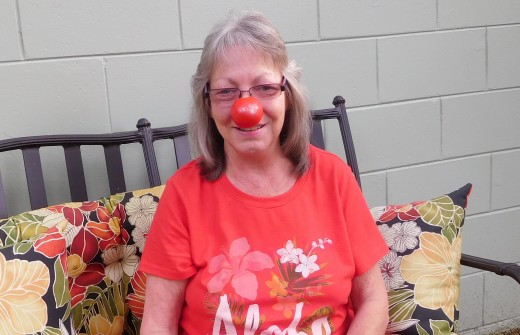Me and my red nose