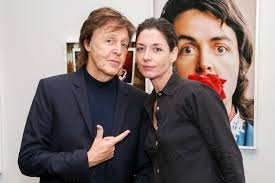 Paul and Mary McCartney