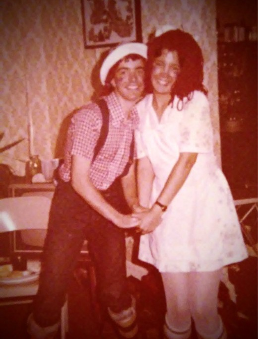 My friend Chris and I won the first prize for being Raggedy Ann and Raggedy Andy at theCostumeparty in 1978.