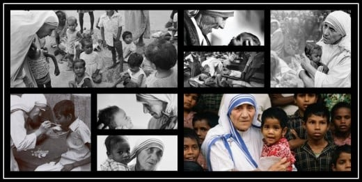 Mother Teresa, the Loving Mother of Humanity.