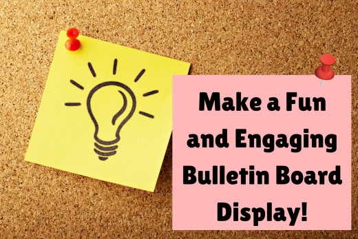 Learn how to make a fun bulletin board display!