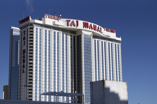 The Trump Taj Mahal is just one of Donald Trump's casinos that he filed for bankruptcy on.