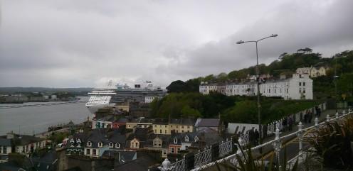 Cobh Harbour in Cobh, Cork, Ireland