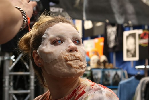 The work behind make up FX is so good it has made us almost blazé about film zombies