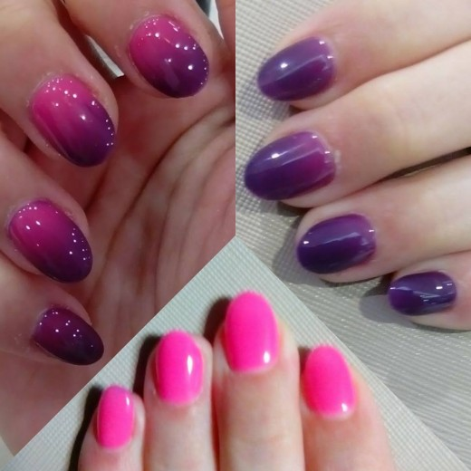 Best colour changing nails!