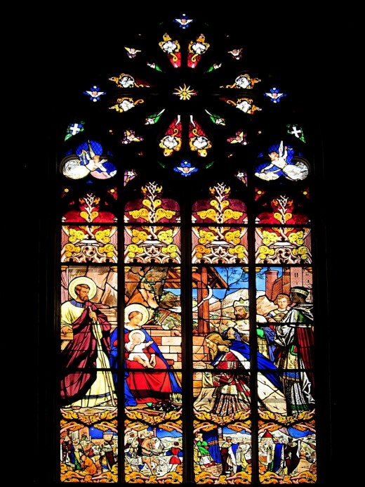 St. Gatien Cathedral - The Magi