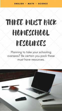 How to Pack Like an Expert for Your Homeschool Overseas