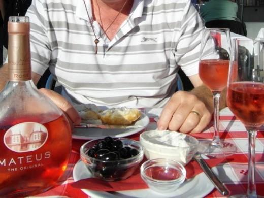 Appetiser at Restaurante Beira Rio.