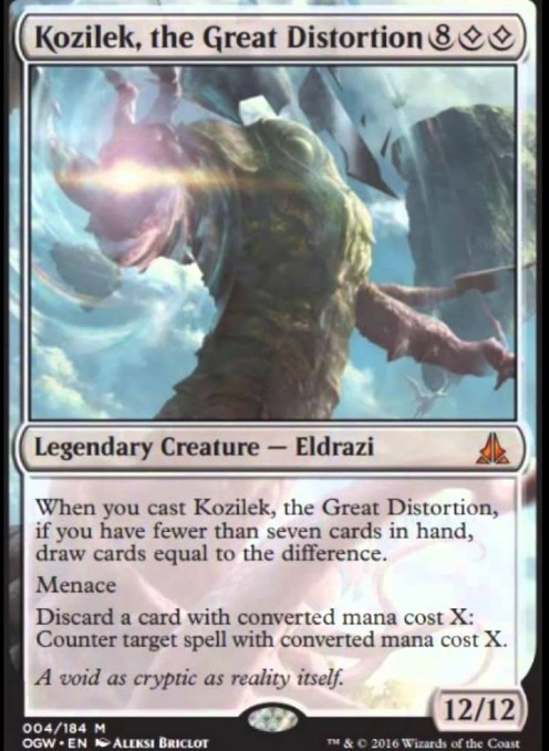 Top 10 Eldrazi in Magic: The Gathering
