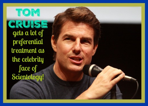 Tom Cruise enjoys many perks as a celebrity in the religion including a free Scientology workforce to clean his homes and fix his vehicles.