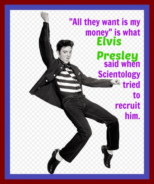 Even though Elvis was wary of Scientology, his ex-wife, Priscilla, and daughter, Lisa, became long-time members. The religion reportedly tried to recruit Michael Jackson, Will Smith, David Beckham, and  Brad Pitt without success.