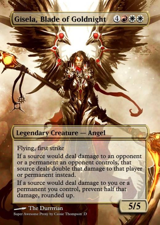 Gisela, Blade of Goldnight alternate art