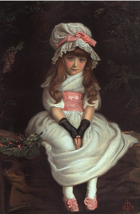 Image: Cherry Ripe by Millais