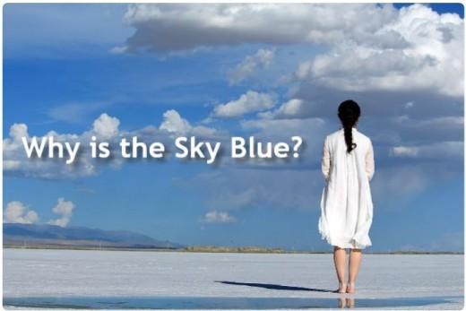 Rayleigh Scattering also explains why the sky is blue