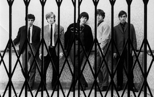 The Stones, caged? Never. Quick trip on the London Underground - well, down to the platform at least, and back up again