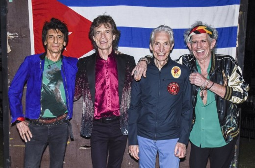 The Stones paint the town red in Cuba - Havana Moon