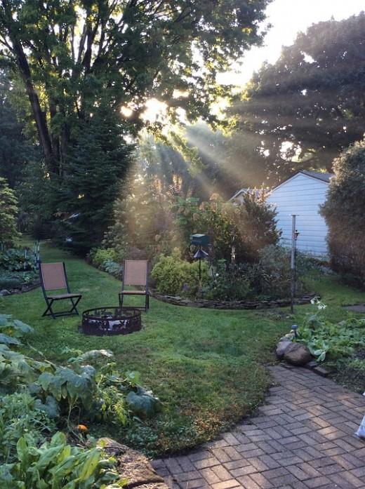 Bon Backyard Design: Simple Patio Ideas