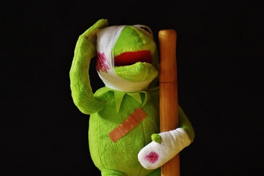 As kermit demostrates, getting hurt on the job or in a car accident is a common cause of costochondritis.