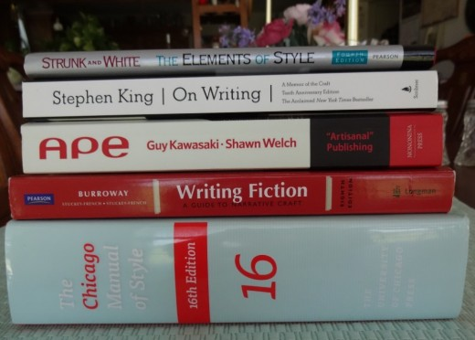 This collection of books can guide the aspiring writer in many ways.