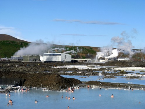 Blue Lagoon The Blue Lagoon geothermal spa is one of the most visited attractions in Iceland.