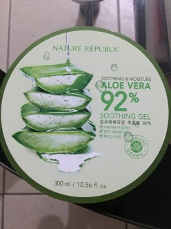 Nature Republic's Aloe Vera Soothing Gel: A Hit or Miss?