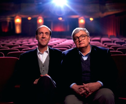 The documentary covers Roger Ebert's (right) TV career with fellow critic Gene Siskel (left) and their sometimes fractious relationship