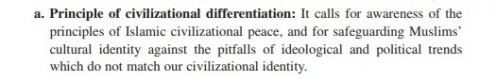 Definition:  We have no intention of assimilation, except YOU being assimilated into OUR Islamic system.