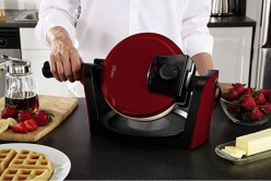 Oster® Titanium Infused DuraCeramic™ Flip Waffle Maker Review