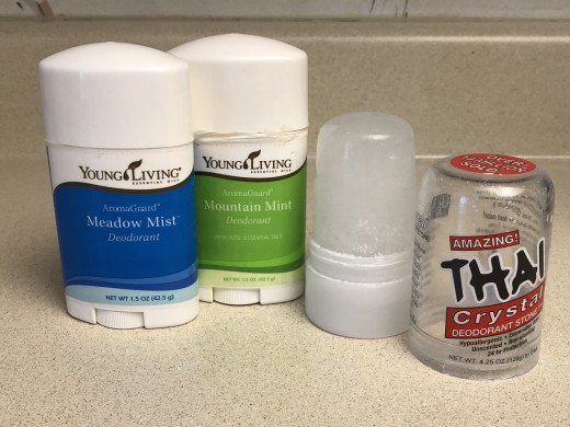 My Current Go-To Deodorants- Young Living and Thai Crystal
