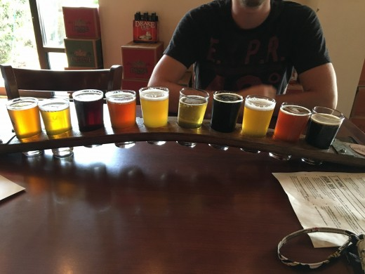 My boyfriend and I love trying new things, and we both enjoy a good craft beer. There are brewers popping up all over our area. Getting a flight is a fantastic way to spend some time and unwind.