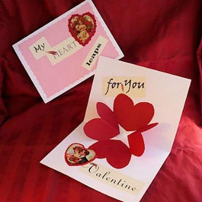 21 Easy Homemade Valentine Cards For A School Exchange Feltmagnet