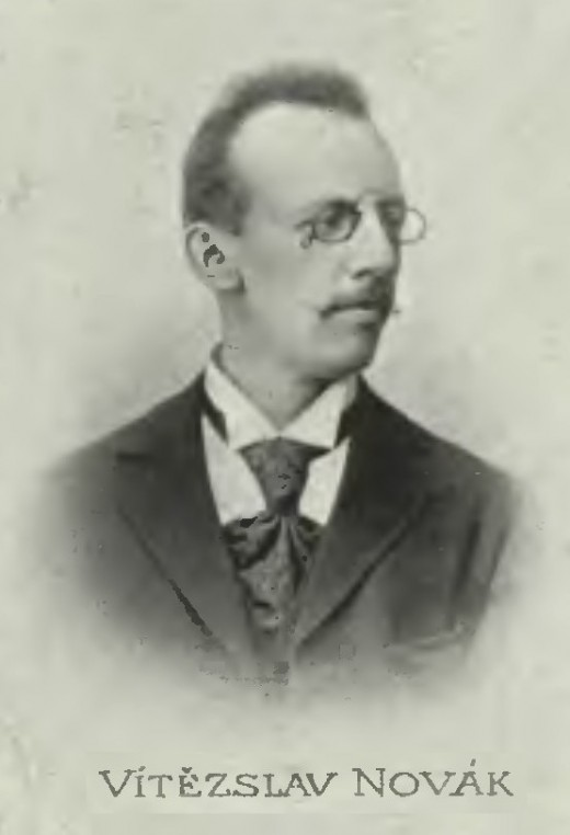 Photograph of Novak in 1899.