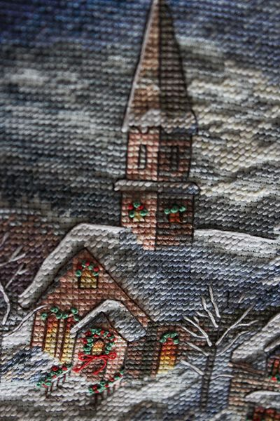 Who wouldn't love to receive a Christmas pillows lovingly hand stitched by you?