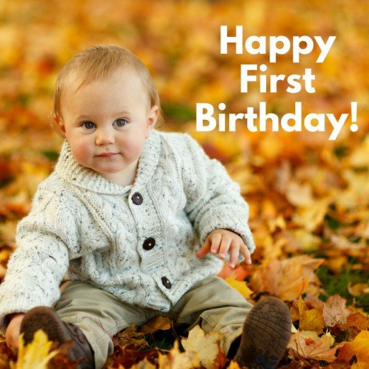 First Birthday Wishes, Poems, And Messages