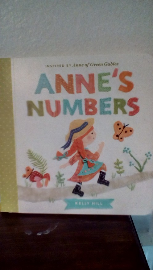 Anne of Green Gables for infants and toddlers introduces fun with numbers