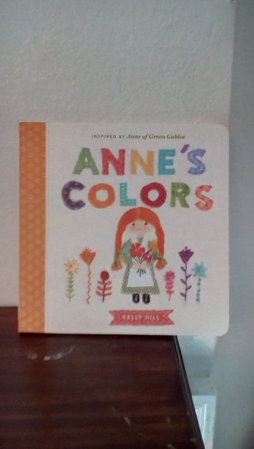 Colors with Anne of Green Gables
