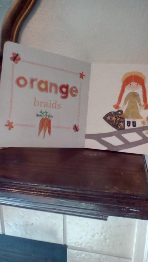 """Anne's """"orange"""" braids"""