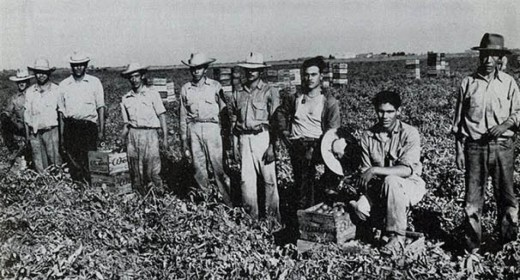 Braceros in American Agricultural Labor Program