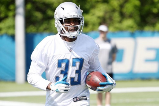 Kerryon Johnson is expected to make an immediate impact in the Lions' run game.