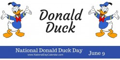 Donald Duck Turns 84 Years Old