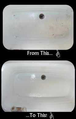 Make Your Sink Look Like New! Too Easy!
