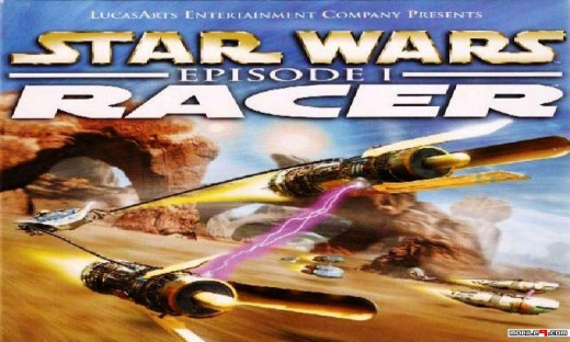 Star Wars: Episode I: Racer PC CD-ROM cover.