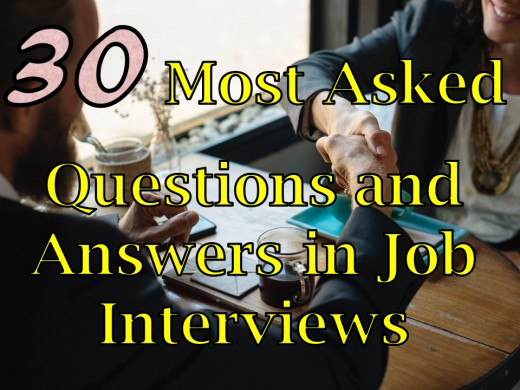 30 Most Asked Questions and Answers