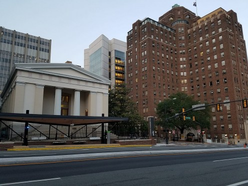 VCU Medical Center and local bus rapid transit station.