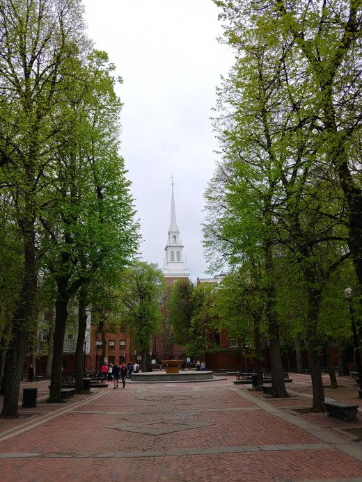 A View of the Old North Church