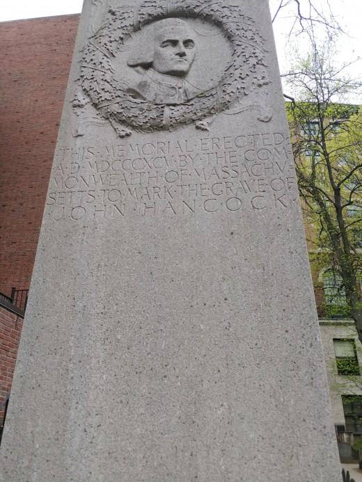 John Hancock's Tombstone